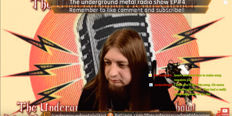 The Underground Metal Radio Show EP#4 Taking Requests!