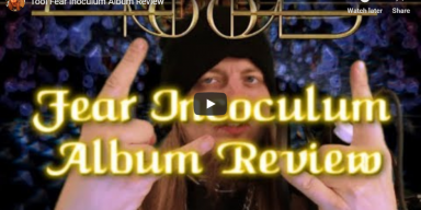 Tool Fear Inoculum album review