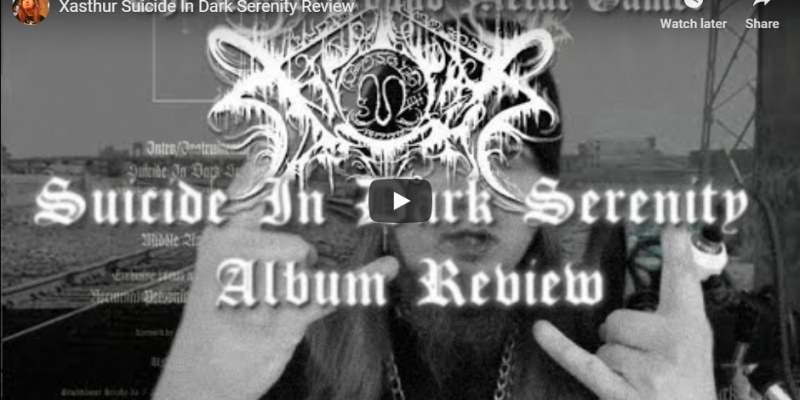 Xasthur Suicide in dark serenity album review