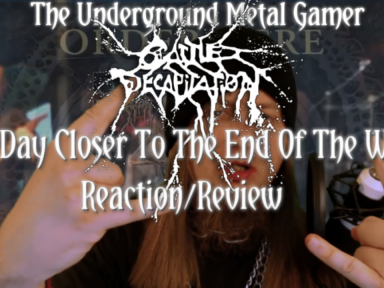 Cattle Decapitation One Day Closer To The End Of The World Reaction