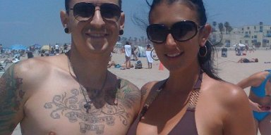 CHESTER'S WIDOW IS ENGAGED