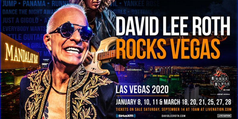 ROTH ANNOUNCES LAS VEGAS RESIDENCY