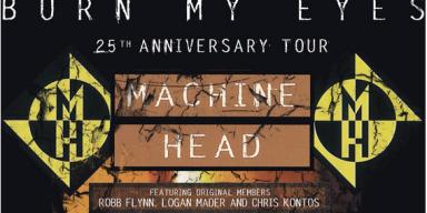 2ND EUROPEAN 'BURN MY EYES' 25th ANNIVERSARY TOUR ANNOUNCED