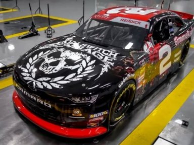 Killswitch Engage branded car set for NASCAR