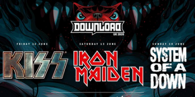 Iron Maiden, Kiss, and System Of A Down Headline Download Fest 2020