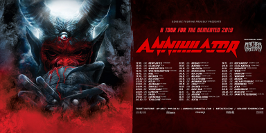 ANNIHILATOR/ ARCHER NATION EUROPEAN TOUR
