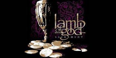 Lamb Of God 'Sacrament' certified Gold