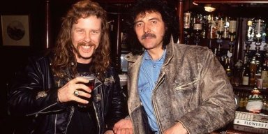 IOMMI WISHES HETFIELD SPEEDY RECOVERY