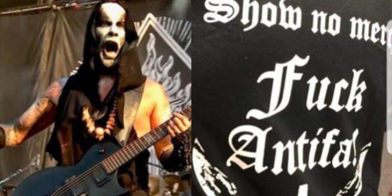 NERGAL's 'Black Metal Against Antifa' T-Shirt Revealed