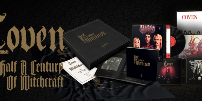 """COVEN box set """"Half A Century Of Witchcraft"""": out on December 13"""