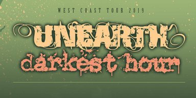 Unearth, Darkest Hour tour dates