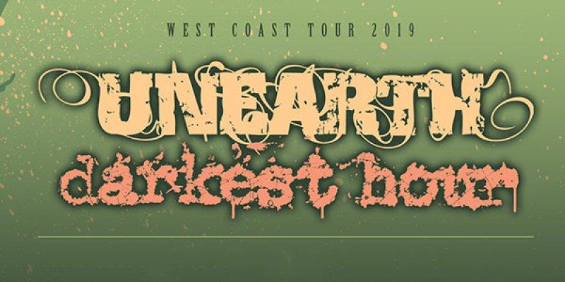 Unearth, Darkest Hour tour dates