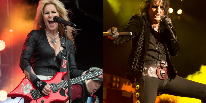 ALICE COOPER & LITA FORD Announce Arena Tour