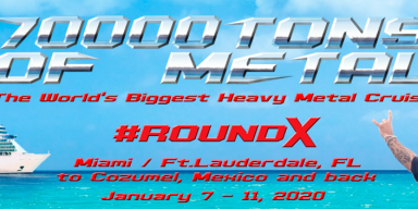 70000TONS OF METAL: first 10 bands for Round X of The World's Biggest Heavy Metal Cruise!