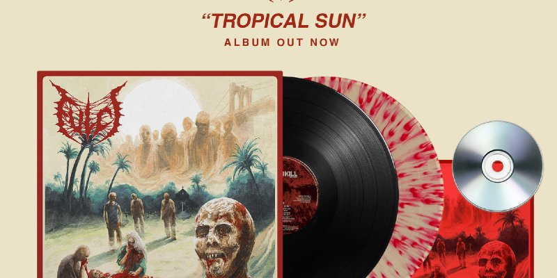"""FULCI: Time To Kill Records to release LP and CD reissues of Italian death metallers acclaimed new album """"Tropical Sun""""!"""