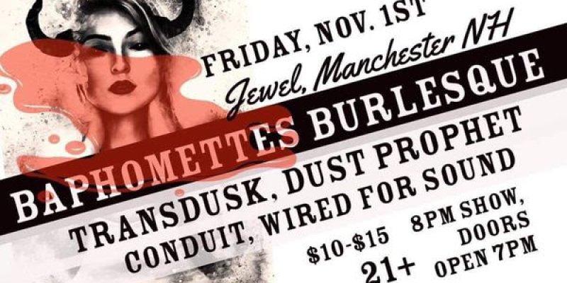 Dust Prophet in Manchester NH 11/1
