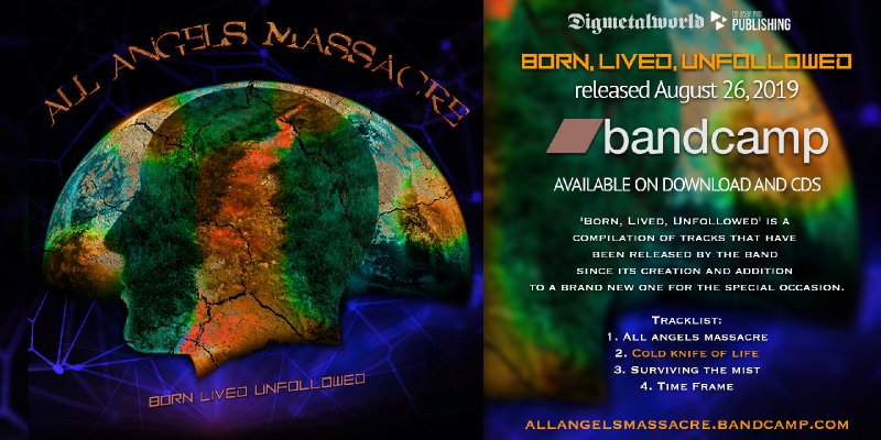 ALL ANGELS MASSACRE release 'Cold Knife Of Life' Lyric video