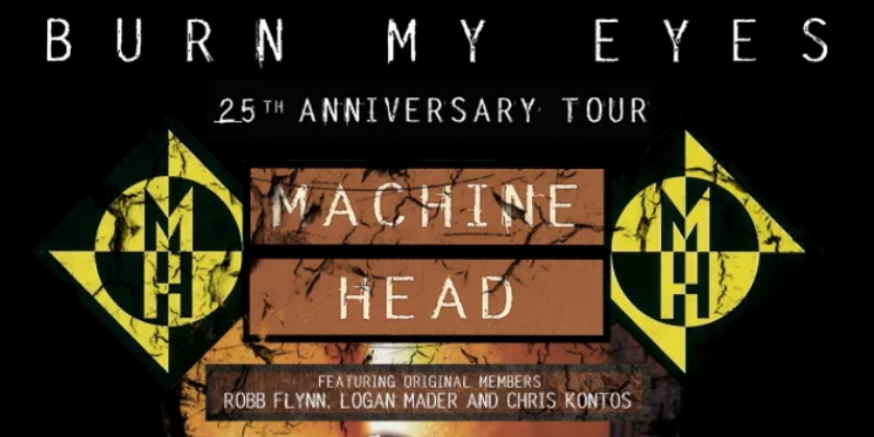 Pro-Shot Video Of MACHINE HEAD's Entire Warsaw Concert During 'Burn My Eyes' 25th-Anniversary Tour