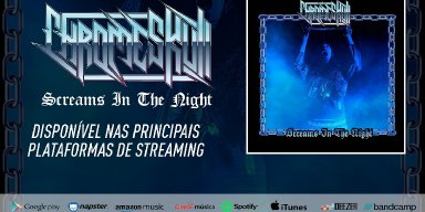 """CHROMESKULL: Listen now to the new single """"Screams In The Night"""""""