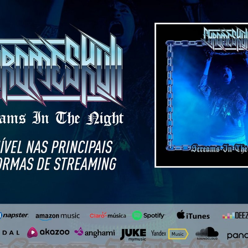 "CHROMESKULL: Listen now to the new single ""Screams In The Night"""