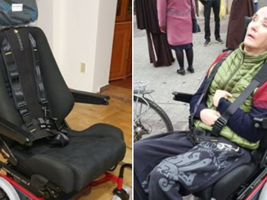 ex-Decapitated frontman gets new wheelchair from crowdfunding