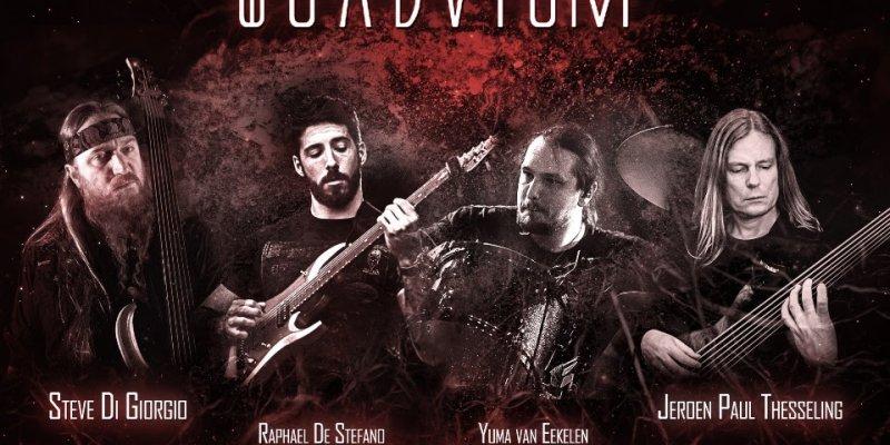 QUADVIUM - Ft. Fretless Masters Steve Di Giorgio And Jeroen Paul Thesseling - Completes Line-Up With Guitar Virtuoso Raphael De Stefano!