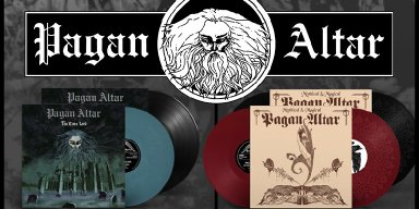 "PAGAN ALTAR's ""Mythical & Magical"" and ""Time Lord"" reissued today by TEMPLE OF MYSTERY"