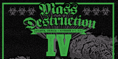 MASS DESTRUCTION METAL FEST IV: Atlanta Extreme Metal Festival Unveils First Wave Of Bands Including Repulsion, Nuclear Assault, Monstrosity, Massacre, Cenotaph, And More; Early Bird Tickets On Sale Christmas Day