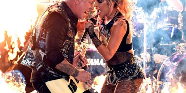 "Watch Metallica & Lady Gaga perform ""Moth Into Flame"" in HD"