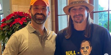 KID ROCK Visits TRUMP's Golf Club, Takes Photo With DONALD TRUMP JR.
