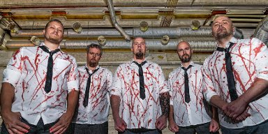Finnish death metal band Blåådpalt released a brutal music video from their upcoming debut album!