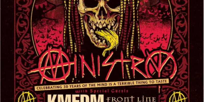 MINISTRY Summer 2020 Tour With KMFDM And FRONT LINE ASSEMBLY