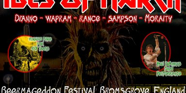 IDES OF MARCH, fronted by PAUL DI'ANNO and including four former IRON MAIDEN members, will celebrate the 40th anniversary of the release of IRON MAIDEN's debut album in a headline BEERMAGEDDON FESTIVAL performance in Bromsgrove, England on Sunday 30th August 2020.