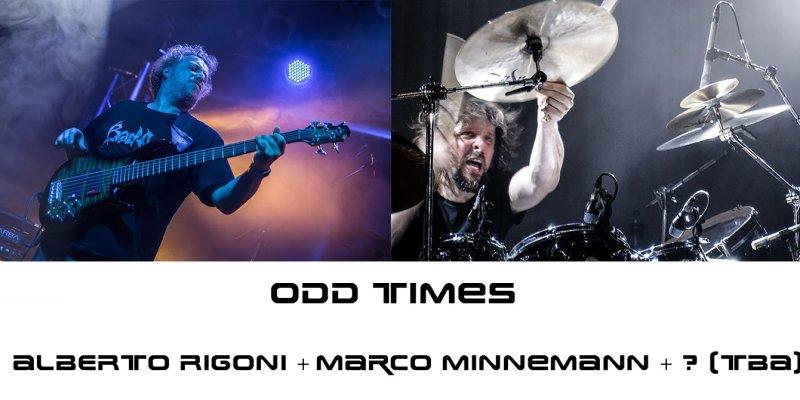 """ALBERTO RIGONI Announces New Solo Album """"Odd Times"""", Feat. Drummer MARCO MINNEMANN And Guitarist TBA"""