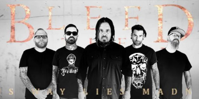 BLEED THE SKY Release Full Length Album This Way Lies Madness Today!