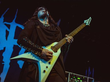 Gog (Herb Himes) From Summoners Circle Gets Endorsed By Solar Guitars!