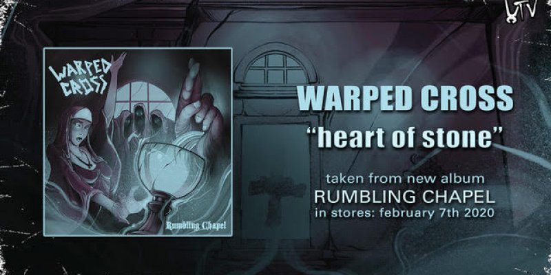 """WARPED CROSS release lyric video for """"Heart Of Stone"""""""