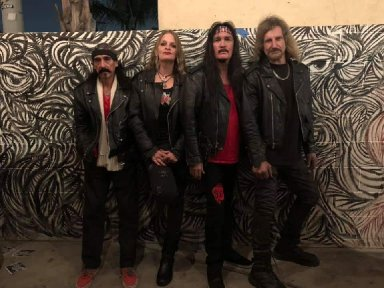 ANGELES' Video Interviews On The Red Carpet @The Metal Hall Of Fame 2020!