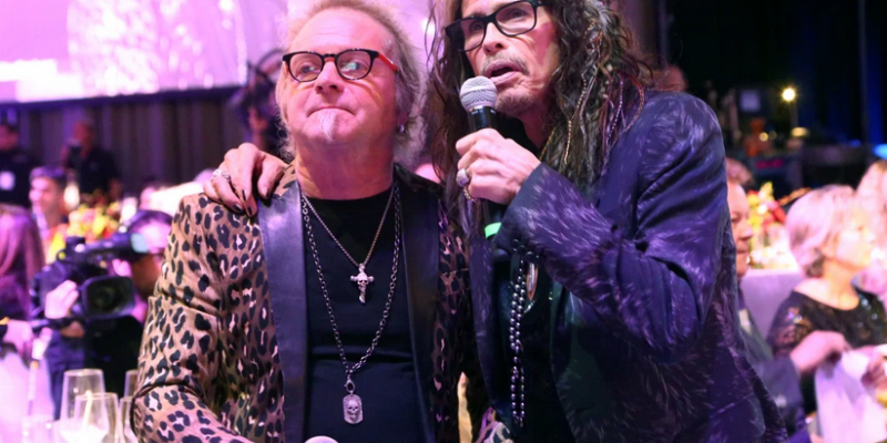 JOEY KRAMER Blocked From Entering AEROSMITH Rehearsal By Security Guards