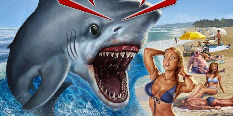 Once Bitten Twice Eaten To Death - New Video Sharkbite From Grindpad!