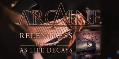 """ARCAINE releases video for """"Relentless"""" (from upcoming debut album)"""