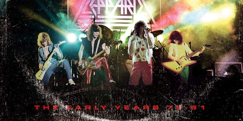 DEF LEPPARD: 'EARLY YEARS' BOX SET DETAILED