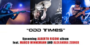 "ALBERTO RIGONI Announces Solo Guitarist And Keyboard Player Alexandra Zerner To ""Odd Times"" Line-Up!"