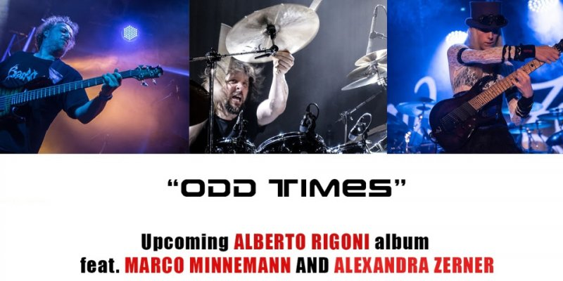 """ALBERTO RIGONI Announces Solo Guitarist And Keyboard Player Alexandra Zerner To """"Odd Times"""" Line-Up!"""