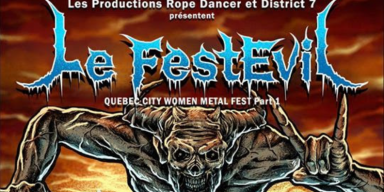 Quebec City's Le FestEvil - Women In Metal Festival Announces Line Up