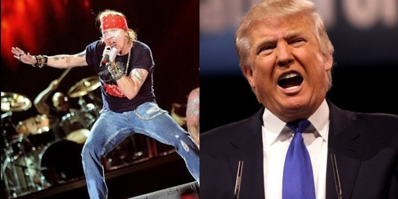 """Axl Rose: """"Make The White House Great Again"""""""