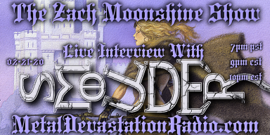 Smoulder - Live Interview On Metal Devastation Radio - Friday Night - The Zach Moonshine Show