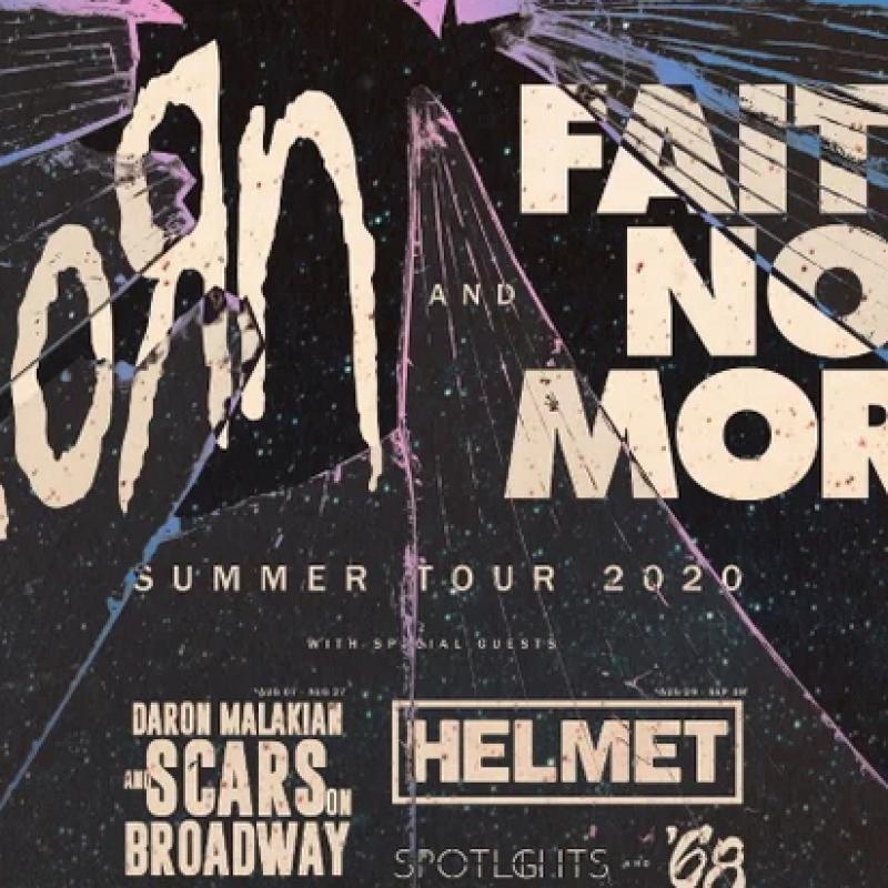 KORN + FAITH NO MORE TOUR