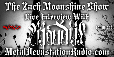 Maudiir Will Be Doing A Live Interview On The Zach Moonshine Show This Friday Night!