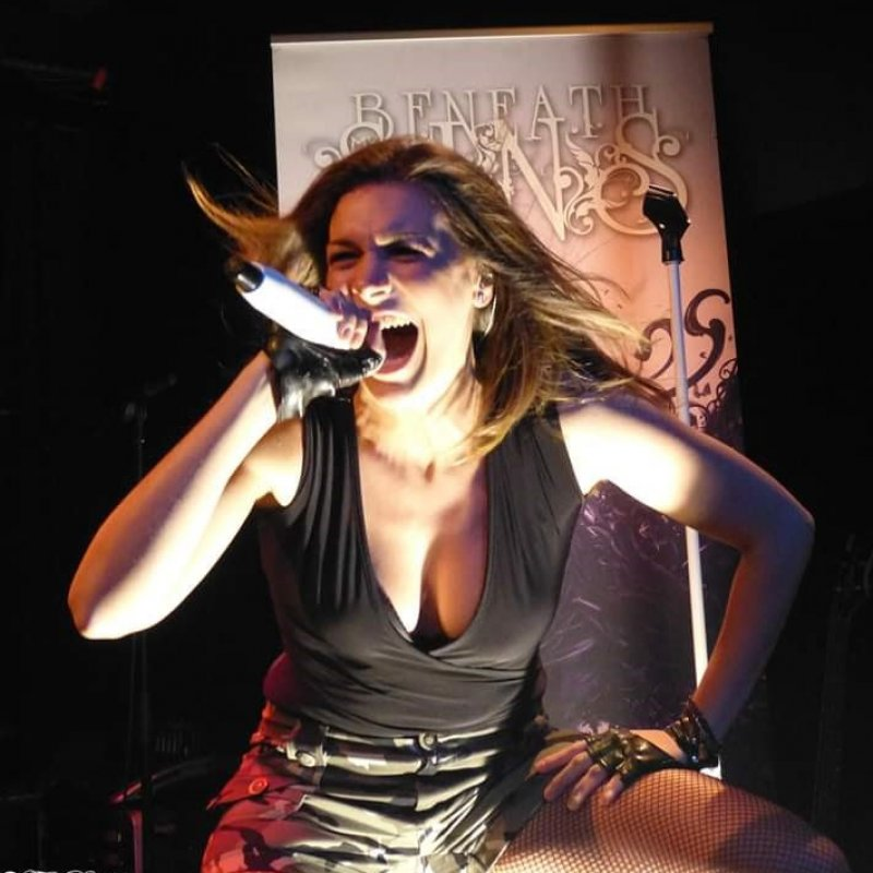 BENEATH MY SINS' Amazing Front Woman, Singer Emma Elvaston Joins Vivaldi Metal Project's vocal-force!